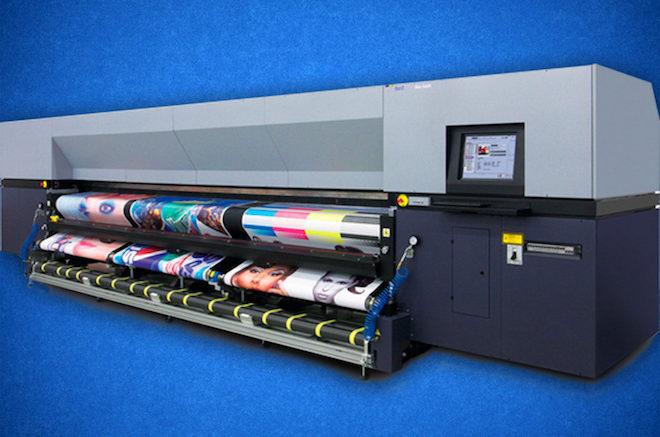 Промышленный текстильный принтер