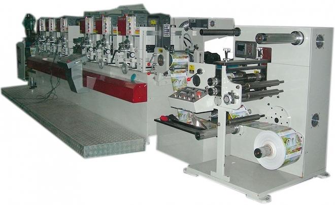 Флексографическая машина