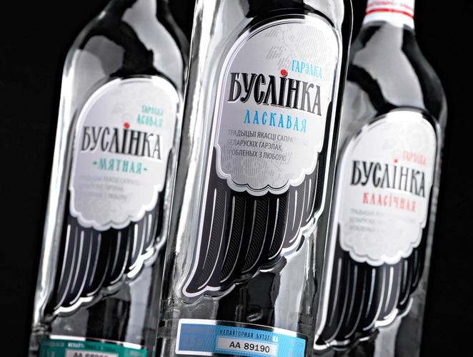 этикетки на бутылках