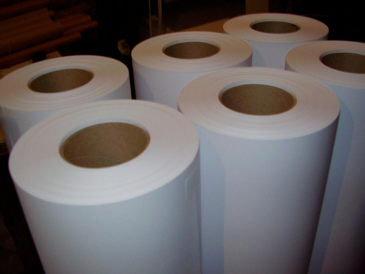 Рулоны офсетной бумаги
