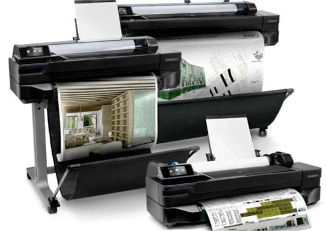 печатное оборудование от HP
